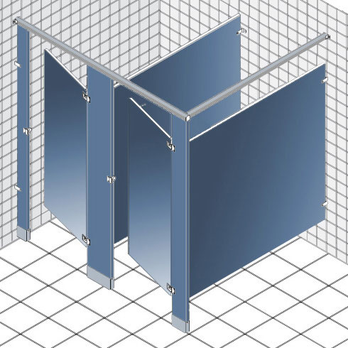 Bathroom Stall Panels toilet partitions | grabbarsonline
